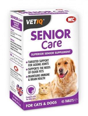 VetIQ Senior Care для пожилых кошек и собак