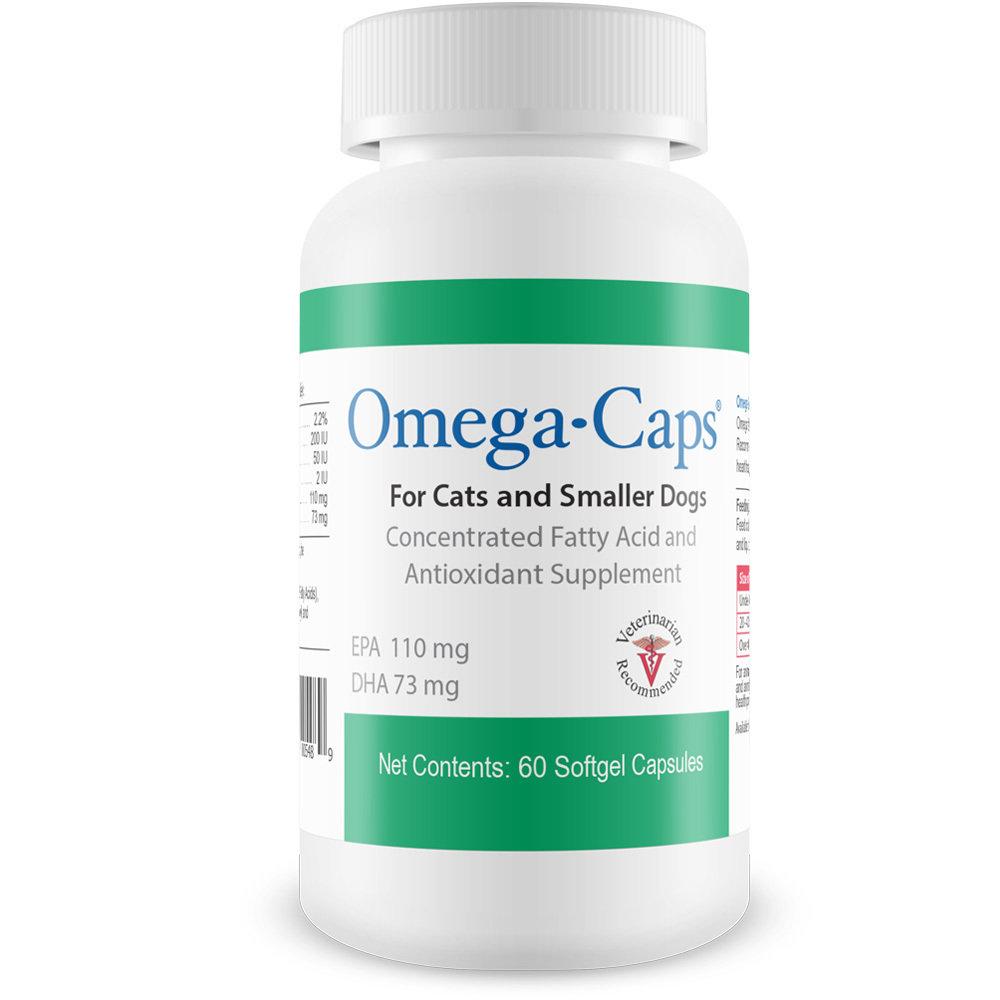 Omega-Caps  For Cats & Smaller Dogs  для кошек и собак мелких пород 60 шт.