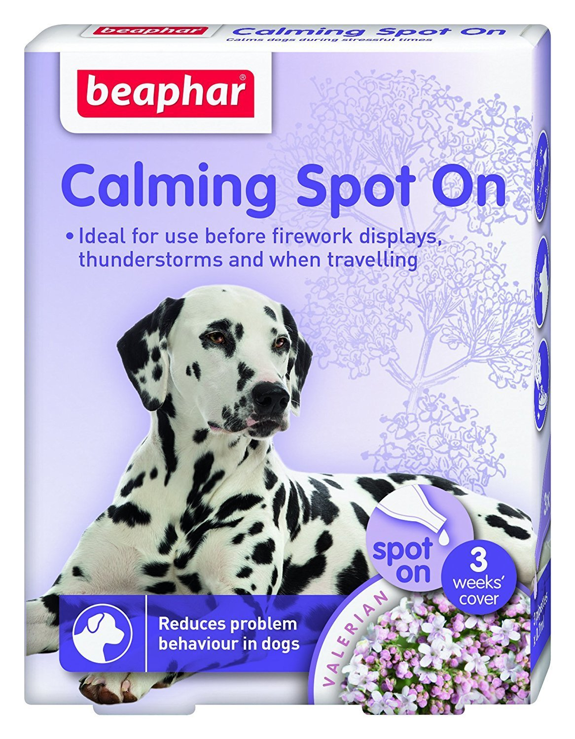 Beaphar Calming Spot On for Dogs уп.3 шт