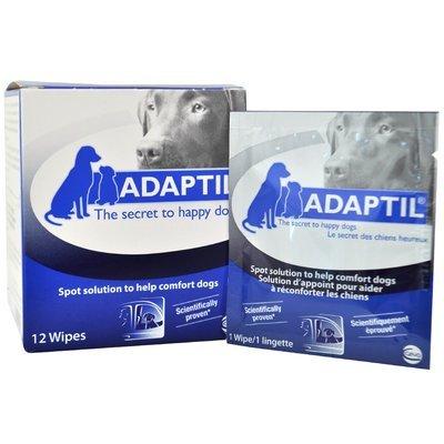 Adaptil влажные салфетки с феромонами для собак
