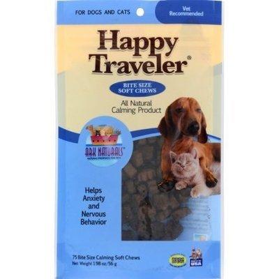 Happy Traveler лакомство 75 шт, для кошек и собак