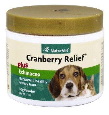 NaturVet Cranberry Relief - Клюква и Эхинацея