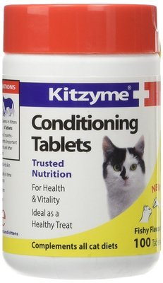 Kitzyme Conditioning Tablets  Китзим Витамины для кошек