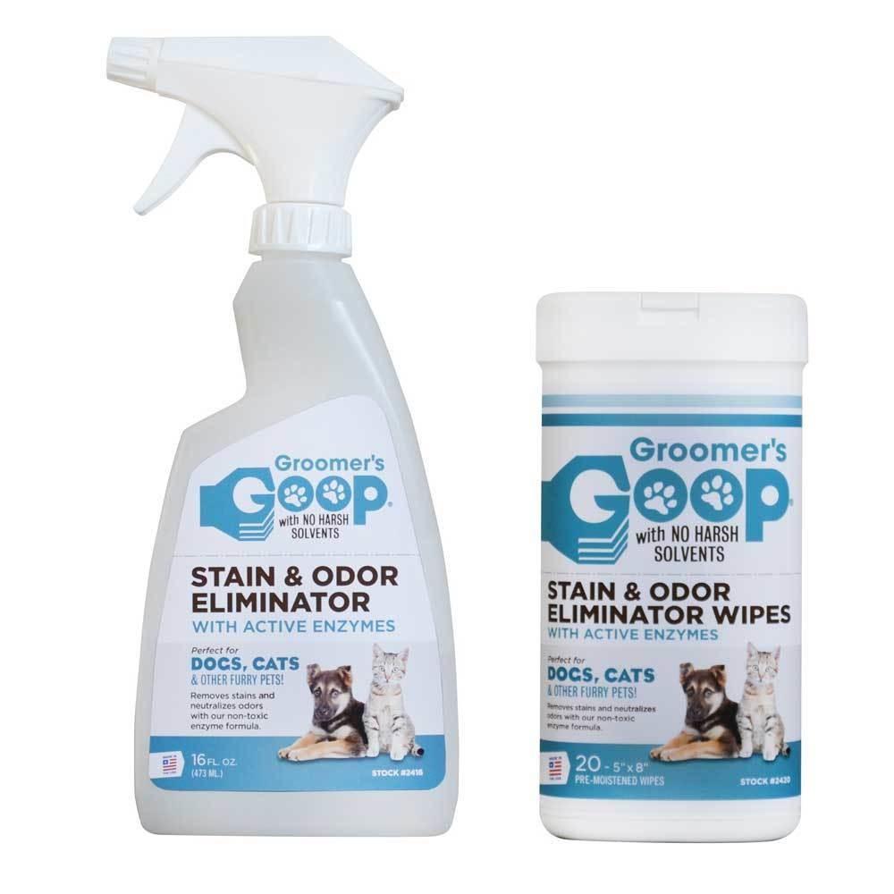 Groomer's Goop Stain & Odor Eliminator удаление запаха и пятен