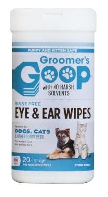 Groomer's Goop Pet Ear & Eye Wipes салфетки для глаз и ушей