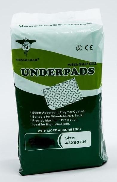 Underpads 43x60cm (20 pc)