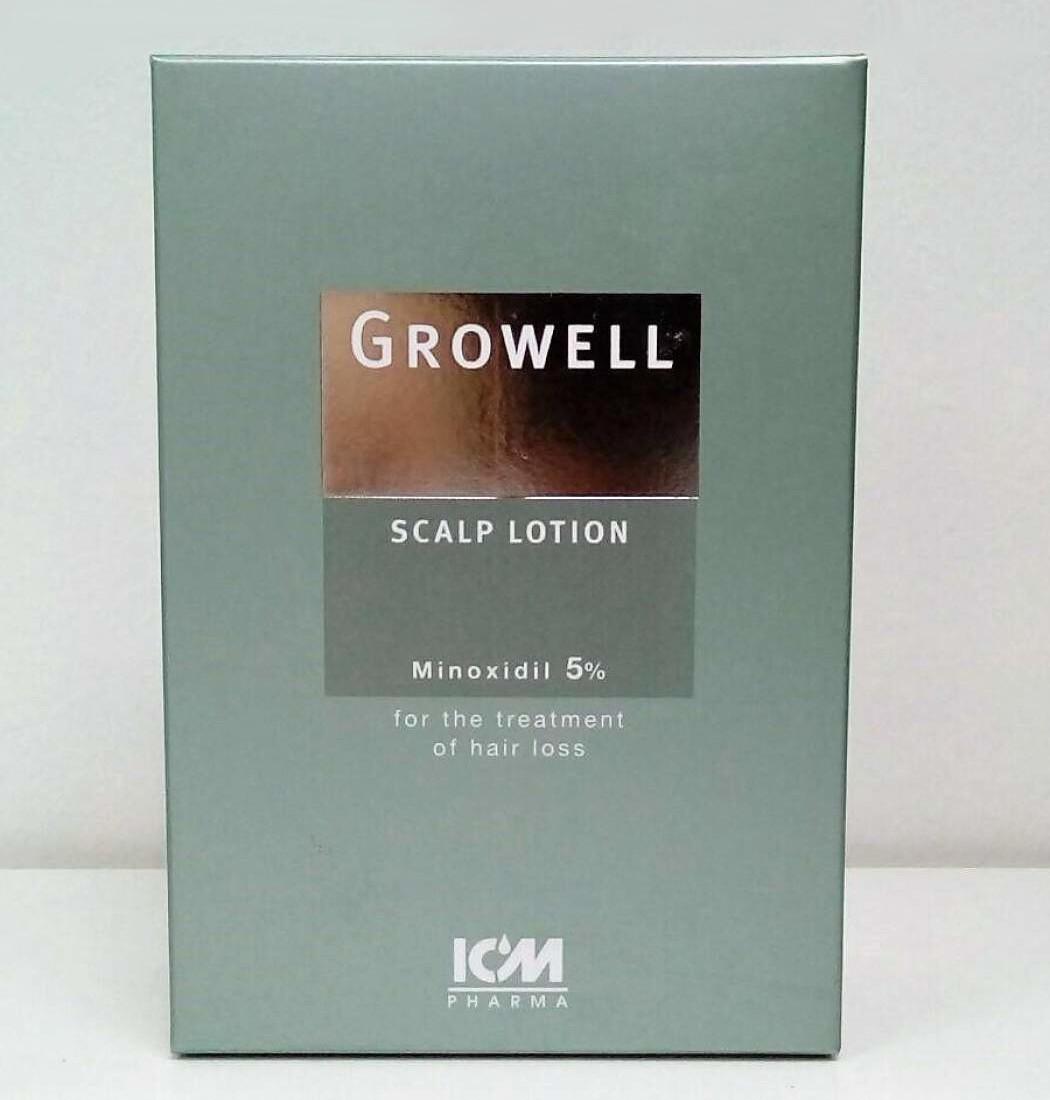 Growell 5% Scalp Lotion (60ml)