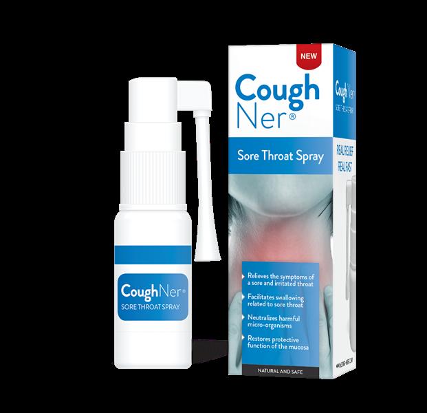 Coughner Throat Spray (30ml) (expiry June 2021)