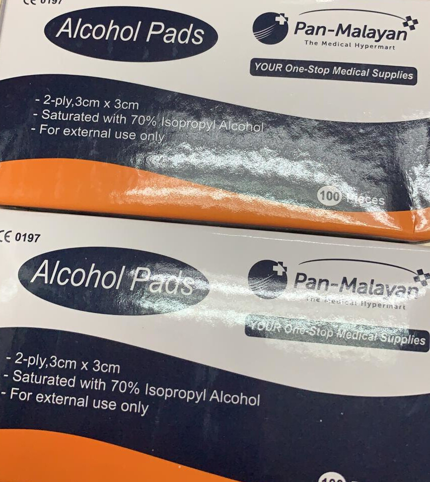 Alcohol Swab (100 sleeves)