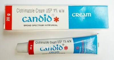Clotrimazole 1% Cream (1 Tube)