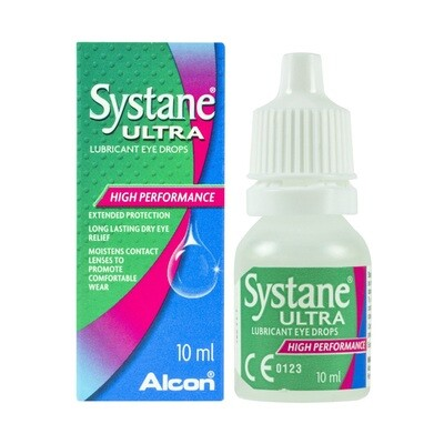 Systane Ultra Lubricant Eye Drops (10ml)