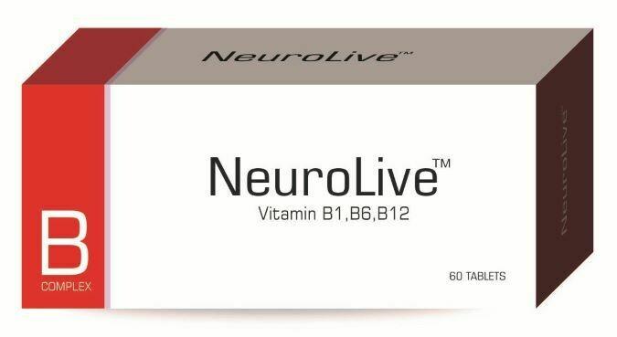 NeuroLive™ B Complex (60 tabs)