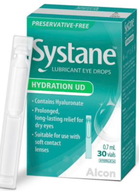 Systane Hydration UD Eye Drops 0.7 ml (30s)