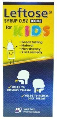 Leftose Syrup for Kids (100ml)