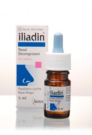 Iliadin (Child) Nasal Drop 0.025% 10ml