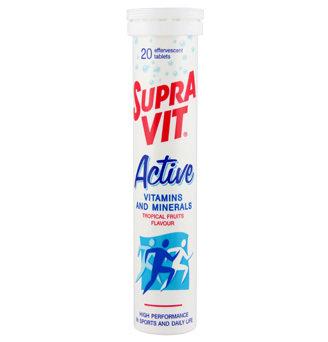 SupraVIT Active Effevescent Tablets (20 Tabs)