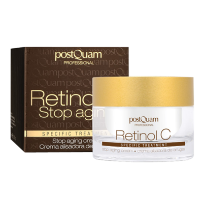 RETINOL AND VITAMINE C STOP AGING CREAM