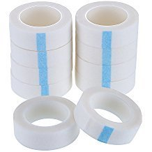 10 Rolls white Eyelash Tape