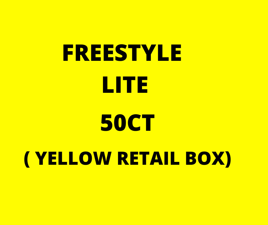 Sell Freestyle Lite 50 Count Retail Box (YELLOW BOX)