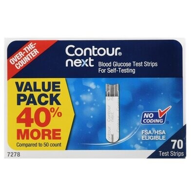 Sell Contour Next 70 Ct