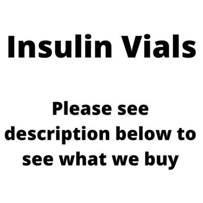 Sell Insulin Vials