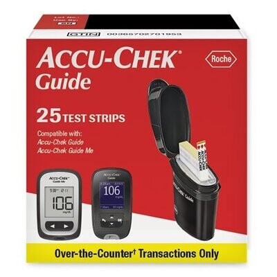 Sell Accu Chek Guide 25 ct