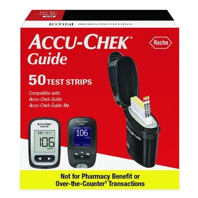 Sell Accu-Chek Guide 50 count *Nfr Box* (Yellow strip on box)