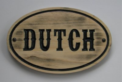 Custom Carved Distressed Look Western Style  Wood Horse Stall Stable Signs Horse Name Plaque