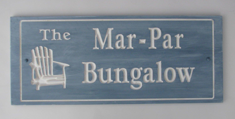 Custom Whitewashed Wood Cottage Sign Camp Sign