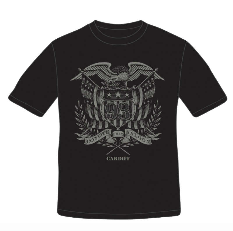 Grey Eagle Coyote T Shirt