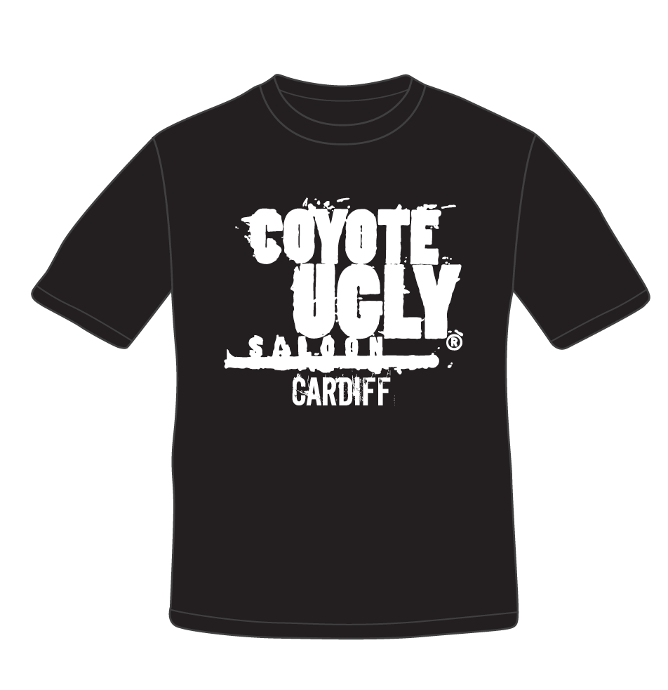 Standard Coyote Ugly Cardiff T Shirt