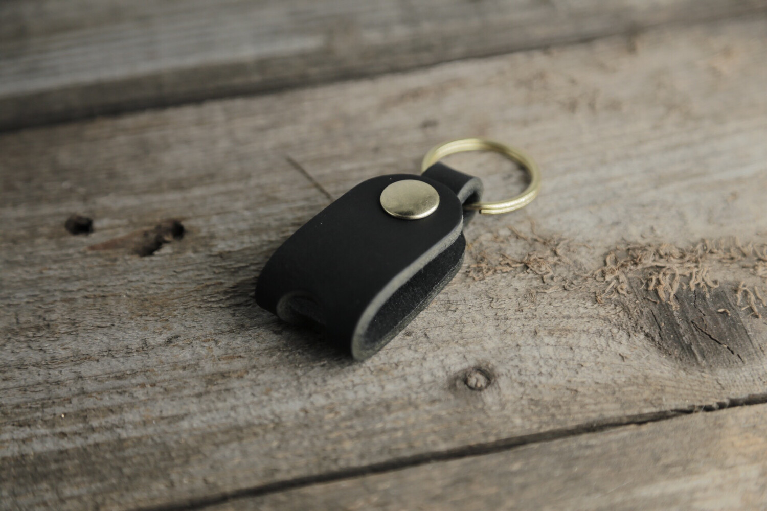 """Holster"" Leather Key Case"