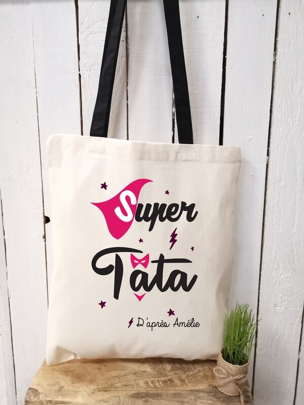 Tote bag/sac shopping/cabas Super tata