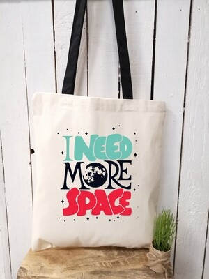 Tote bag/sac shopping/cabas I need more space