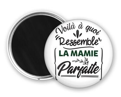 Badge magnet à quoi ressemble mot personnalisable