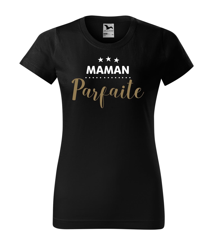 Tee shirt maman texte personnalisable