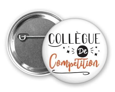 Badge épingle collègue de mot personnalisable