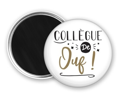 Badge magnet collègue de mot personnalisable