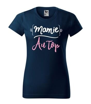 Tee shirt femme mamie avec votre texte personnalisable