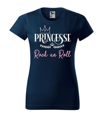 Tee shirt femme princesse votre texte personnalisable