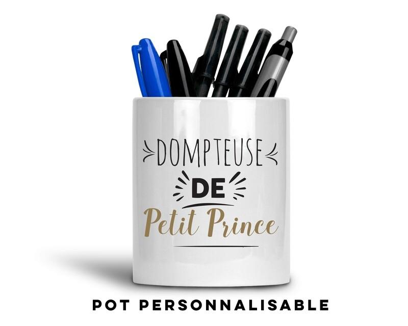 Pot à crayons dompteuse de avec votre mot personnalisable