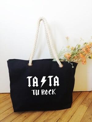 "Sac shopping style marin Tata ""Tu Rock"""