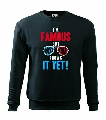 Sweatshirt I'm famous