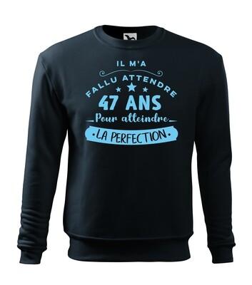 Sweatshirt age de la perfection