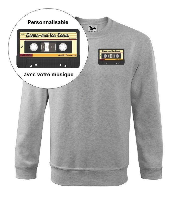 Sweatshirt année 90 personnalisable