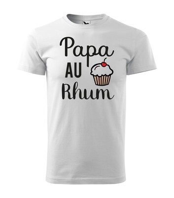 Tee shirt homme papa au rhum