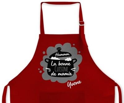 "Tablier personnalisable ""Cuisine mamie"""
