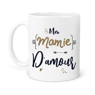 "Mug ""Ma mamie"" personnalisable"