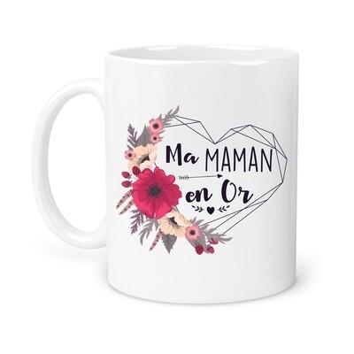"Mug personnalisable ""en or"""