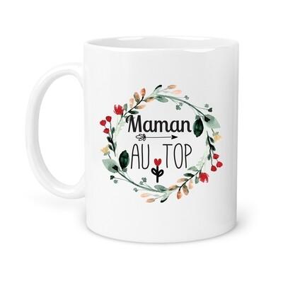 "Mug personnalisable ""au top"""